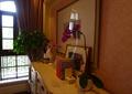 盆景花卉,盆景植物,地柜,摆件,别墅空间