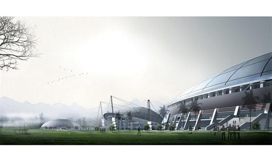 体育城建筑规划设计