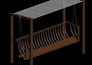 现代吊椅设计3d模型
