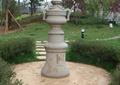 柱体装饰,草坪