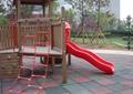 儿童游乐设施,儿童游乐场,地面铺装,梯子,滑梯,围栏