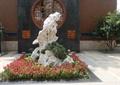 置石,景石,花卉植物,景墻,地面鋪裝,公園景觀
