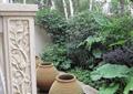 水钵,柱体装饰,水体景观