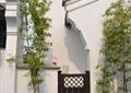 庭院门,竹子,园路,地面铺装,古建,住宅景观