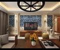 客厅,茶几,电视背景墙,电视柜,装饰品