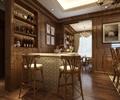 吧台,酒柜,装饰画,地面铺装,餐厅
