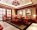 茶桌椅,地毯,背景墻,吊燈,臺燈,客廳