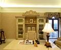书柜,台灯,办公桌椅,摆件,花架,书房
