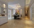 走廊,過道,地面鋪裝,天花吊頂,裝飾畫,餐桌椅,住宅空間