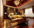 吊顶,软包墙面,床头柜,茶几,地毯,客厅