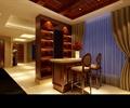 吧台,酒柜,高椅,天花吊顶