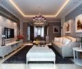 客厅,电视背景墙,沙发背景墙,天花吊顶,地毯