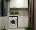 阳台,储物柜,洗手台,洗衣机