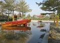 水池水景,雕塑水景,雕塑小品,石子铺装