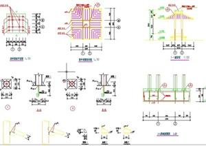 园林景观节点凉亭设计CAD详图