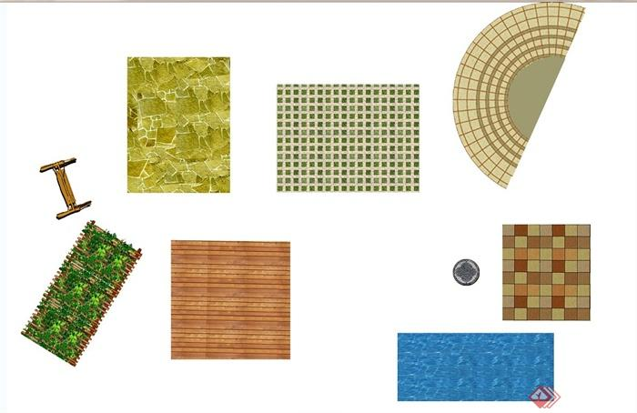 别墅庭院彩色平面图制作初级教程(2)