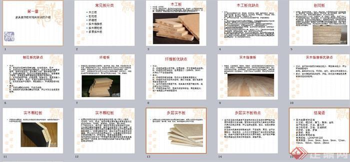 家具装饰板材相关介绍PPT文本(5)