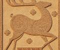 梅花鹿浮雕贴图