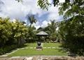 酒店景观,陶瓷罐小品,凉亭,草坪,园路