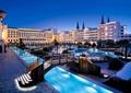 酒店景觀,度假酒店,酒店,園橋,景觀水池