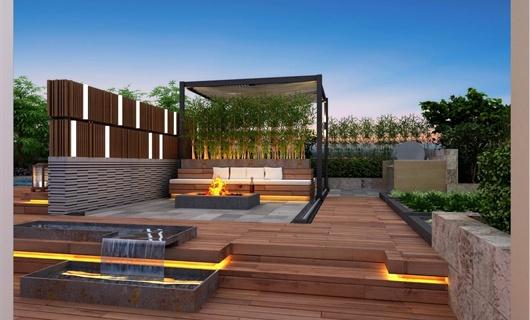 屋顶花园设计案例