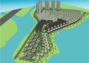 某别墅区概念方案设计PPT文本