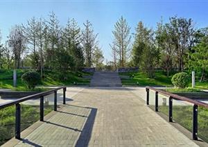 大厂书画院景观设计jpg实景图