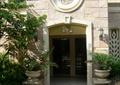 入户门,欧式构件,花钵,外墙石材,石子铺装