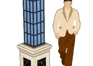 景观灯路灯SU(草图大师)模型