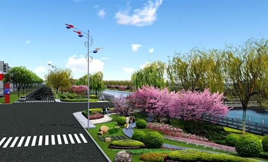 晋州干渠景观绿化