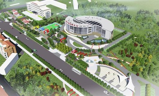 抚宁金山大街绿地景观设计方案