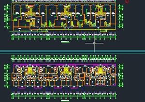 某高层独栋户型图设计CAD图