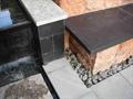 坐凳,排水沟,卵石水沟