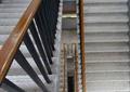 剪刀楼梯,扶手