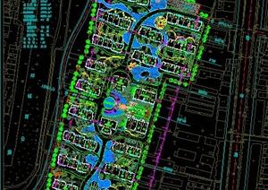 某小区总平面图CAD方案
