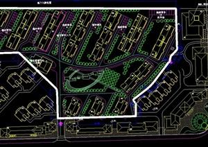 某小区平面设计CAD图