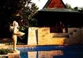景观亭,景墙,水池景观,水池壁,雕塑小品,雕塑水景