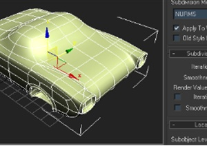 3D小汽车建模教程