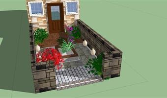 小庭院设计001