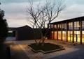 庭院设计,庭院景观,树池,石子铺装