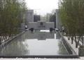 入口景觀,入口水景,水池景觀,景墻,鐵藝大門,樹池