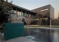 入口水景,水池景观,喷水雕塑,雕塑小品,景墙