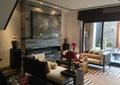 客厅,电视墙,沙发,茶几,台灯