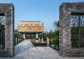 文化街景,水池,文化建筑