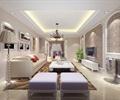 客廳,客廳裝飾,沙發,沙發茶幾,電視背景墻,電視柜,掛畫,室內燈具