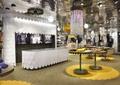 商店设计,商店展示,服务台,前台,宣传海报,展示台,吊灯