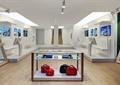 商店设计,商店展示,展示台,体验区,沙发椅,电视