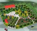 公园设计,休闲公园,灌木丛,广场铺装,道路规划