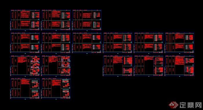 室内装饰通用节点标准cad施工图集(3)