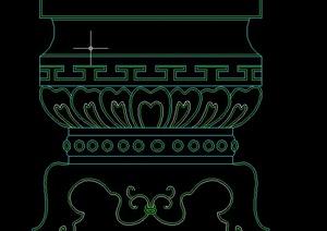 40个建筑常用装饰柱设计cad图